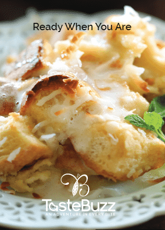 This scrumptious dish is perfect for a brunch or anytime you want to start the day with indulgence.