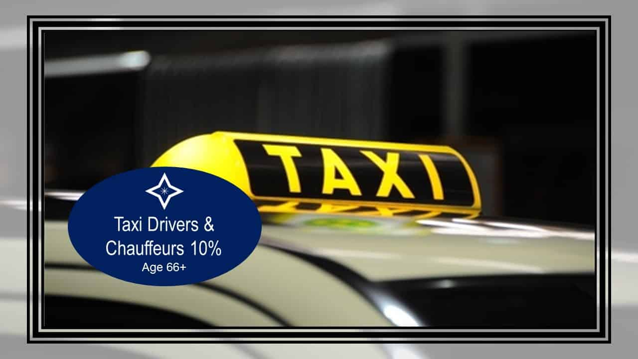 Taxi Drivers - Top 10 Careers Where People Work The Longest