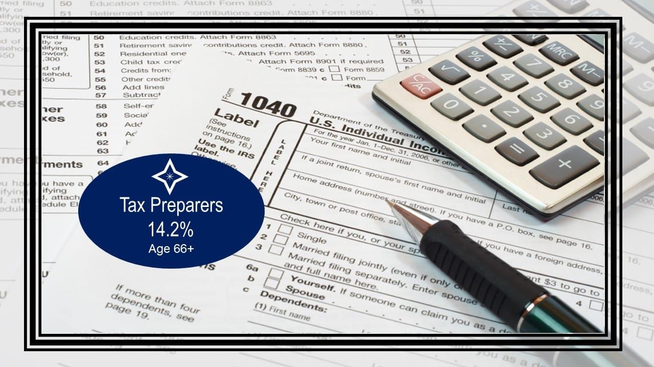 Tax Preparers - Top 10 Careers Where People Work The Longest