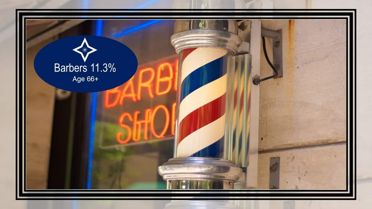 Barbers - Top 10 Careers Where People Work The Longest
