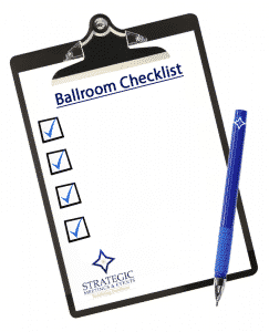 Strategic Ballroom Checklist - Run Efficient General Sessions