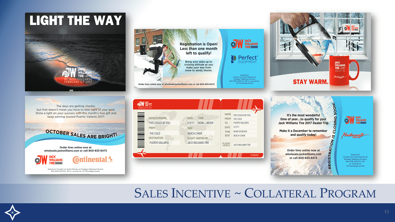 Sales Incentive - Collateral Program