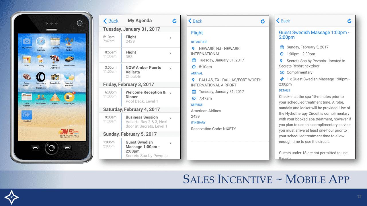 Sales Incentive - Mobile App