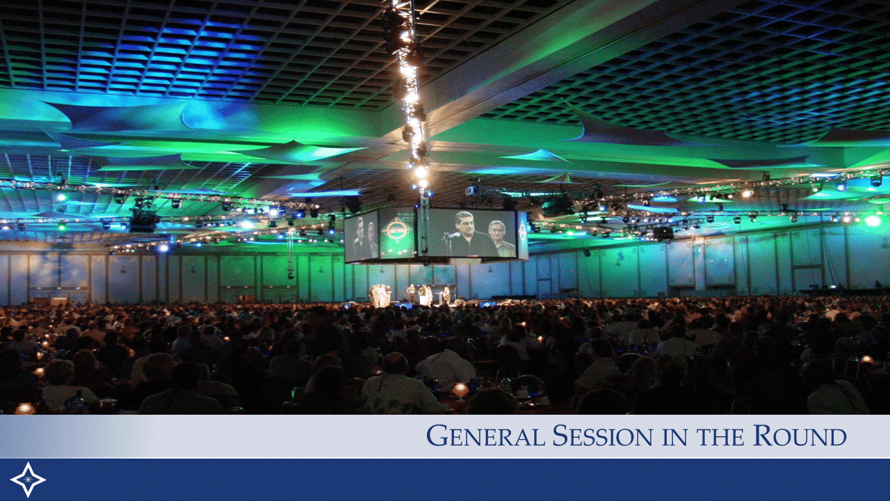 Corporate General Session In The Round