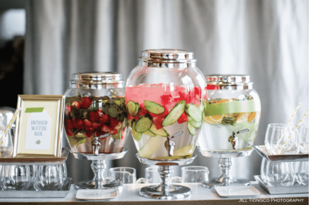 As planners, we are always looking for ways to elevate the attendee experience however, our budgets often have us searching for clever ways to make an impression that doesn't break the bank. Why not create a fruit infused water bar? Gourmet Water Stations: Elevate the Attendee Experience