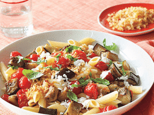 penne-with-eggplant-tomato-basil