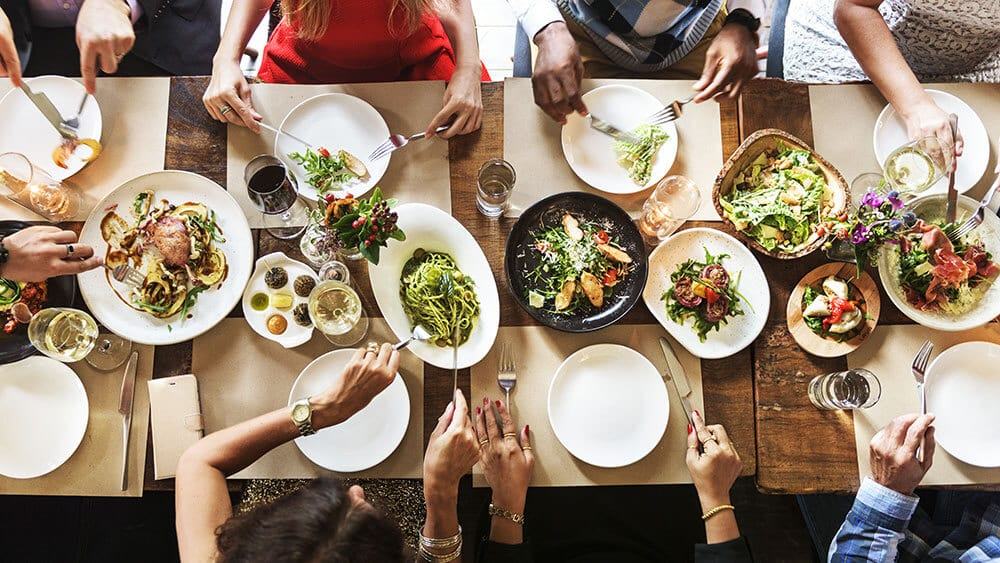 New research suggests that sharing plates of food leads to improved negotiations, an idea that business events professionals could use to enhance cooperation at events.