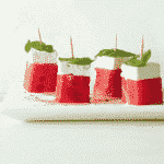 Watermelon and Feta Stacks