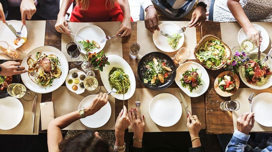 Should You Ditch the Buffet for Family-Style Event Meals